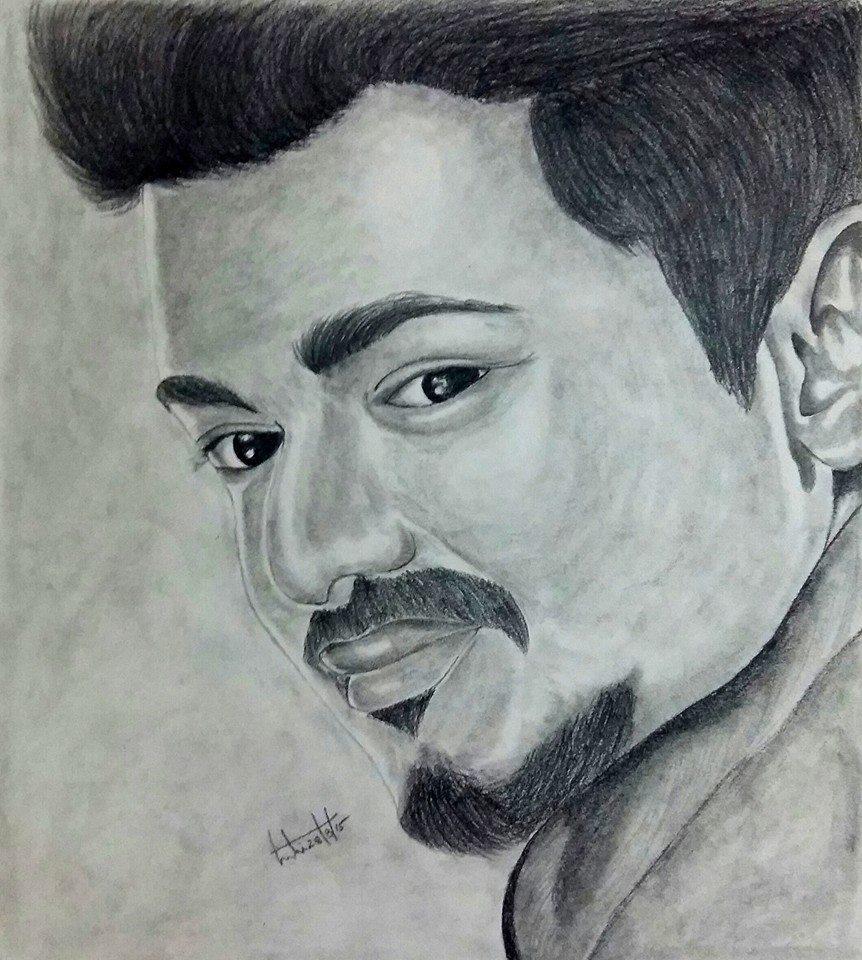 Vijay Honey S Pencil Art